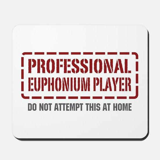Professional Euphonium Player Mousepad