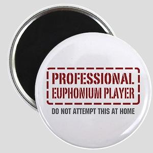 Professional Euphonium Player Magnet