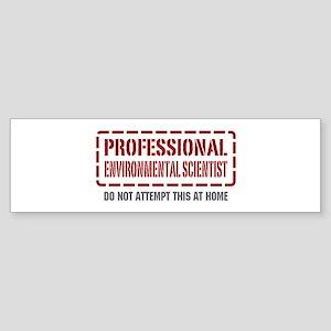 Professional Environmental Scientist Sticker (Bump