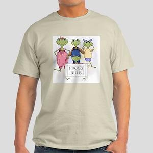 Frogs Rule Light T-Shirt