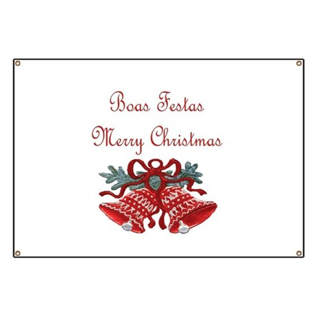 Portuguese Christmas Banner