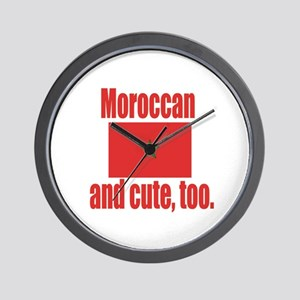 Cute Moroccan Wall Clock