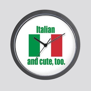 Cute Italian Wall Clock
