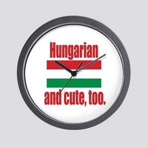 Cute Hungarian Wall Clock