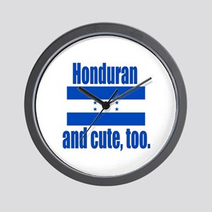 Cute Honduran Wall Clock