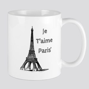 Je T'aime Paris Mugs