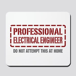 Professional Electrical Engineer Mousepad