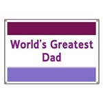 World's Greatest Dad Banner