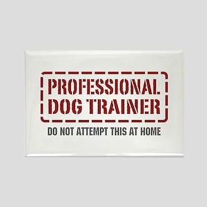 Professional Dog Trainer Rectangle Magnet