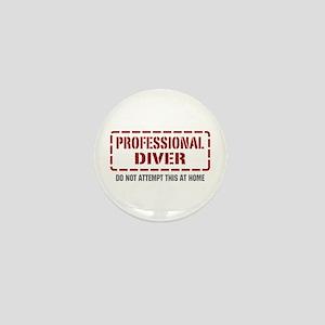 Professional Diver Mini Button