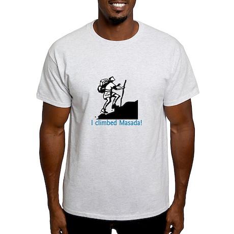 i climbed masada Light T-Shirt