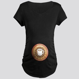 Instant Violinist Maternity Dark T-Shirt