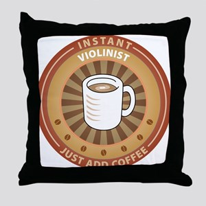 Instant Violinist Throw Pillow