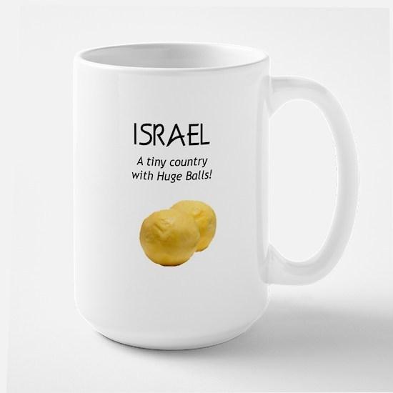 Israel: Huge balls Large Mug