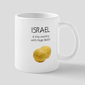 Israel: Huge balls Mug