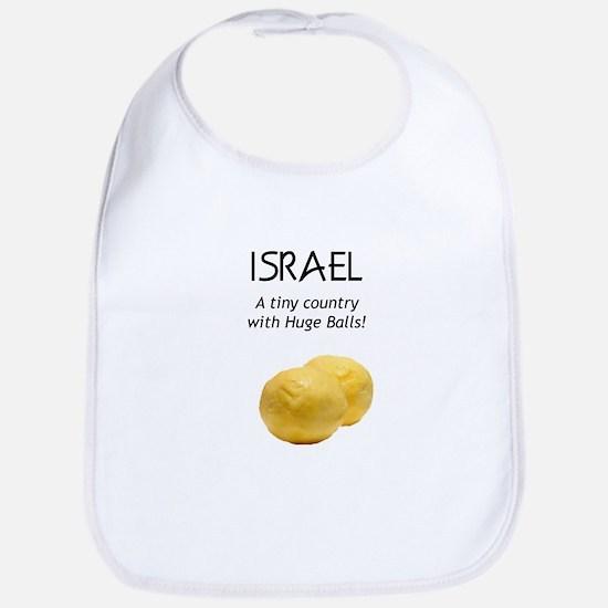 Israel: Huge balls Bib