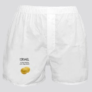 Israel: Huge balls Boxer Shorts