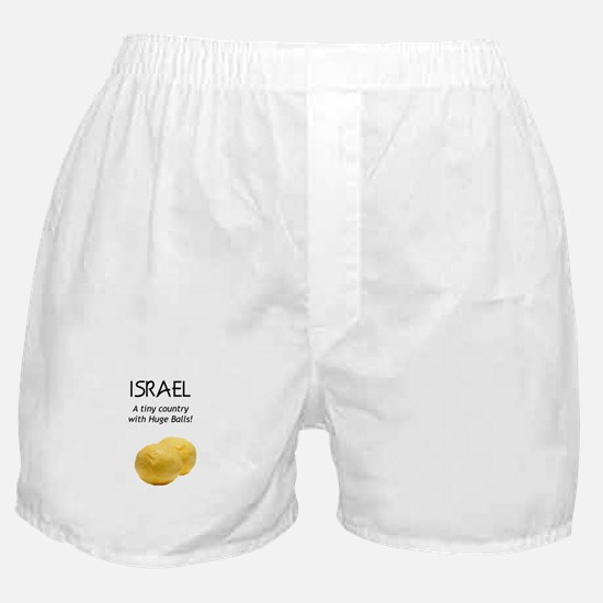 Israel: Huge balls Boxer Shorts