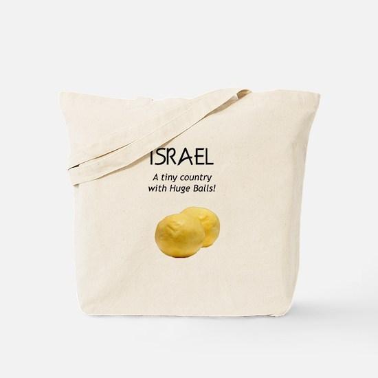 Israel: Huge balls Tote Bag