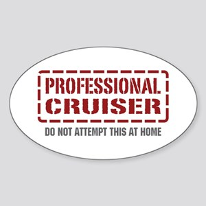 Professional Cruiser Oval Sticker