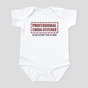 Professional Cross-stitcher Infant Bodysuit
