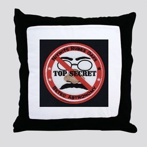 Nitwits Rubes Oafs Throw Pillow