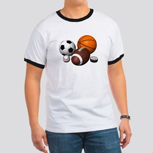 sports balls Ringer T
