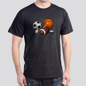 sports balls Dark T-Shirt