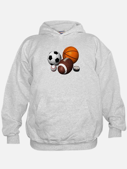 sports balls Hoodie