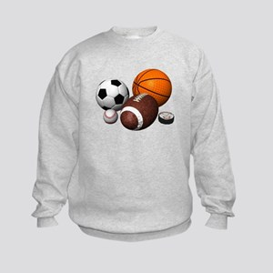 sports balls Kids Sweatshirt