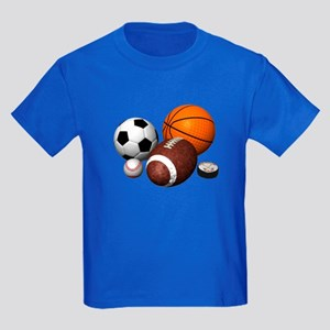 sports balls Kids Dark T-Shirt