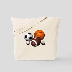 sports balls Tote Bag