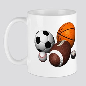 sports balls Mug