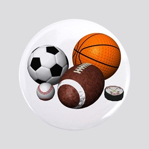 "sports balls 3.5"" Button"