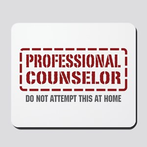 Professional Counselor Mousepad