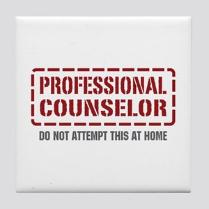 Professional Counselor Tile Coaster