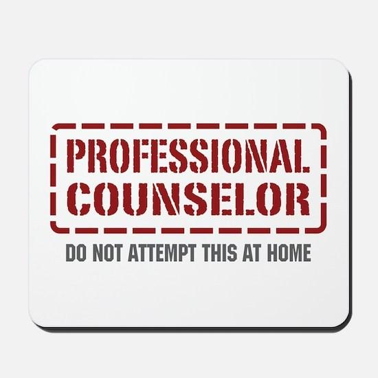 Professional Counselor Mousepad