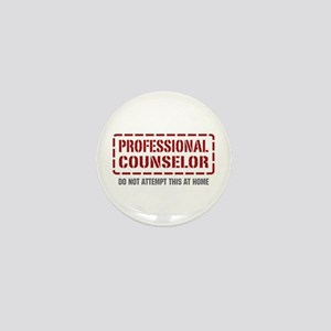 Professional Counselor Mini Button
