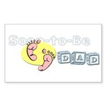 Soon-to-Be Dad Rectangle Sticker 10 pk)