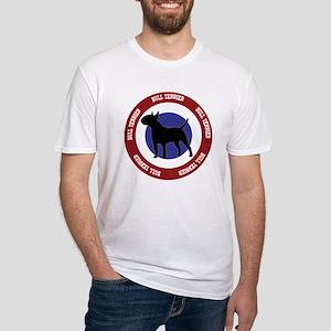 Bull Terrier Bullseye Fitted T-Shirt
