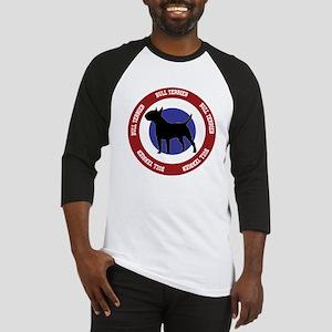 Bull Terrier Bullseye Baseball Jersey
