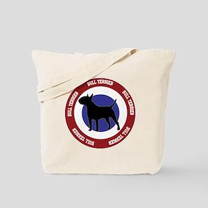 Bull Terrier Bullseye Tote Bag