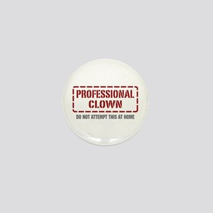 Professional Clown Mini Button