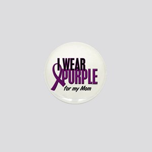 I Wear Purple For My Mom 10 Mini Button