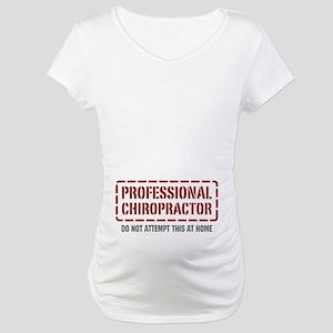 Professional Chiropractor Maternity T-Shirt