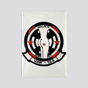 """VAW 124 """"Racy"""" Bare Aces Rectangle Magnet"""