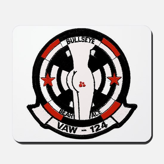 "VAW 124 ""Racy"" Bare Aces Mousepad"