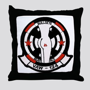 """VAW 124 """"Racy"""" Bare Aces Throw Pillow"""