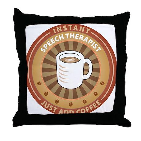 Instant Speech Therapist Throw Pillow