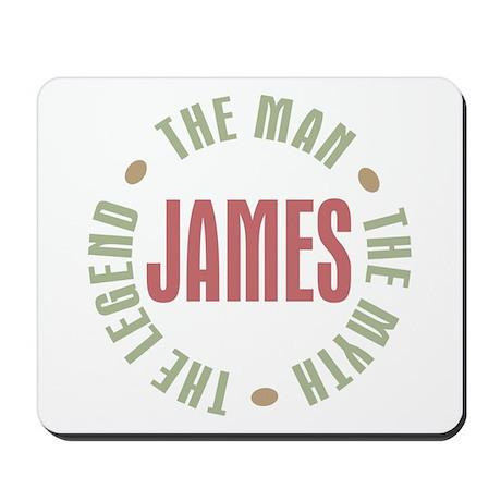 James Man Myth Legend Mousepad